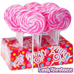Just+found+Whirly+Pop+1.5-Ounce+Swirl+Suckers+-+Bright+Pink:+24-Piece+Display+@CandyWarehouse,+Thanks+for+the+#CandyAssist!
