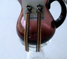 Love Knot gold clad and black Hematite with by SHOPTILLYOUDROPNOW, $17.00