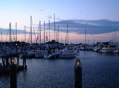 St. Clair Shores - beginning of sail around Great Lakes, summer 2013