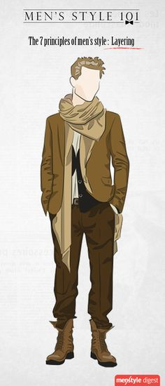 Layering – Men's answer to the lack of variety in menswear Check this out, it is very helpful!