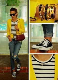 30 Outfits, Outfits With Converse, Fall Outfits, Casual Outfits, Fashion Outfits, Converse Style, Black Converse, Moda Outfits, Converse Chuck