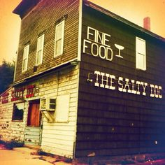 Salty Dog in Filer Twp. Manistee, Michigan..my my,what happened..they had such good food too!!