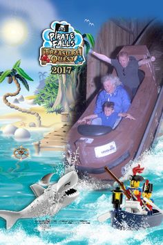 Check out my photo from Pirate Falls Treasure Quest at LEGOLAND® Windsor Resort!