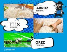 Orez / Arroz. https://www.facebook.com/aprendehebreoo