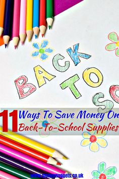 Are you looking to save money on back-to-school supplies? Read this handy list before you start shopping and save yourself some money today. Saving Ideas, Money Saving Tips, Money Tips, Ways To Save Money, How To Make Money, Finance Blog, Back To School Supplies, Money Today, Financial Tips