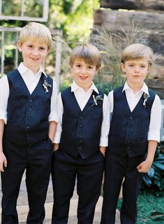 Dark Blue Boy Suit Vest 2019 Wool Boys Formal Dresswear Vest Set tailored Kids Wedding waistcoat Two Piece Suit (VestPants) Wedding Outfit For Boys, Wedding With Kids, Wedding Attire, Boys Suit Vest, Boys Suits, Pageboy Outfits, Wedding Waistcoats, Ring Boy, Ring Bearer Outfit