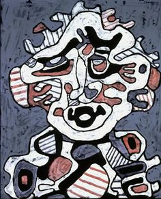 We look back on the champion of art outsiders and father of Art Brut, French artist and sculptor Jean Dubuffet. Jean Dubuffet, Jean Cocteau, Jean Philippe, Graffiti, Art Brut, Expositions, Naive Art, Outsider Art, French Artists