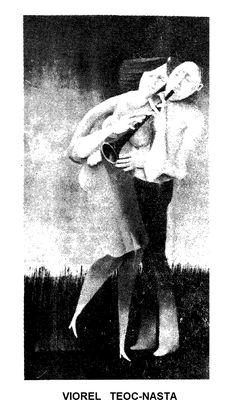 Caricatura de VIOREL TEOC-NASTA, publicata in almanahul PERPETUUM COMIC '97 editat de URZICA, revista de satira si umor din Romania