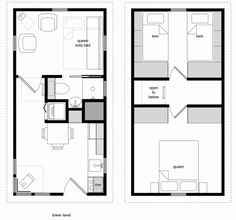 Living in a sqft house can be more meaningful than in a big one. Here are 20 free DIY tiny house plans to help you build one by yourself. Tiny House Loft, Tiny House Living, Tiny House Design, Tiny House On Wheels, Small House Kits, Small House Floor Plans, Tiny House Movement, Free House Plans, Free Plans