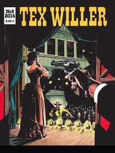 Tex Willer -lehti no 2/2014. #sarjakuva #sarjis #sarjakuvalehti #egmont