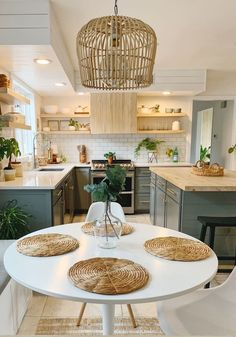 kitchen remodel on a budget ; kitchen remodel before and after ; kitchen remodel with island ; Boho Kitchen, Home Decor Kitchen, Interior Design Kitchen, Home Kitchens, Kitchen Ideas, Swedish Interior Design, Remodeled Kitchens, Bohemian Interior Design, Kitchen Dining Living