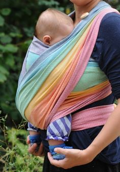 Girasol Light Rainbow (my most favorite wrap ever)