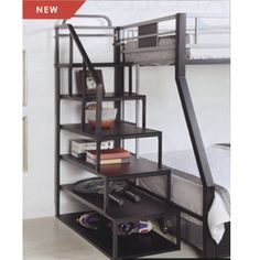 Easy to use storage ladder for a Bunk or Loft Bed. Strong construction. Assembly required.Size: 41-1/8 In.(L) x 18-1/8 In. (W) x 70-1/2 In. (H)