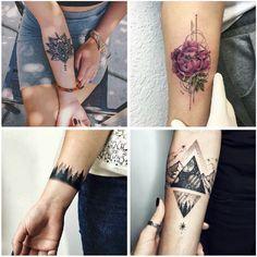 tatuajes en el antebrazo universo