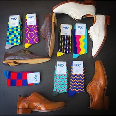Fashionable socks club.