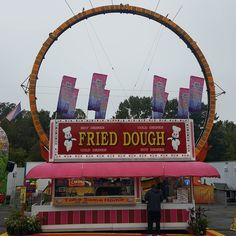 Fried dough whether it's in the form of elephant ears or funnel cakes it's always a big attraction for food lovers at the Arkansas State Fair. #arstatefair #arkansasstatefair #fairfood #2016arstatefair #littlerock #arkansasfood