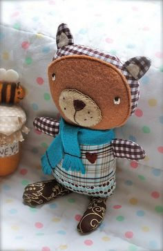 Freckles the bear | Flickr - Photo Sharing!