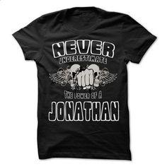 Never Underestimate The Power Of ... JONATHAN - 99 Cool - #womens sweatshirt #sweater women. ORDER NOW => https://www.sunfrog.com/LifeStyle/Never-Underestimate-The-Power-Of-JONATHAN--99-Cool-Name-Shirt--68650390-Guys.html?68278