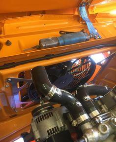 New stainless steel brackets to hold Spal fan Bmw 2002 Ti, Bmw Motors, Stainless Steel Brackets, Touring, Tech, Fan, Hand Fan, Technology, Fans