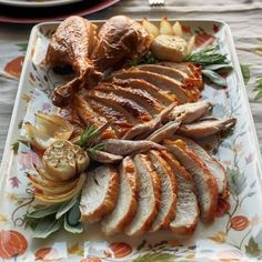 Recipes | Roast Turkey with Mushroom Stuffing | Sur La Table