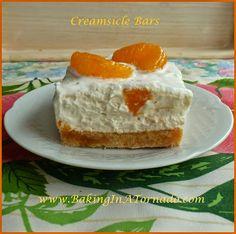 Creamsicle Bars | www.BakingInATornado.com | #recipe #dessert #bake