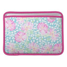 Pretty Pink Roses, Butterflies MacBook Air Sleeve: £55.95 - http://www.zazzle.co.uk/pretty_pink_roses_butterflies_macbook_air_sleeve-205226010191759411?rf=238041988035411422