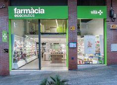 #ecoceutics #pharmacy #viladecans farmàcia vilà #jordifigueroladesign #int-nova #mesqueretols