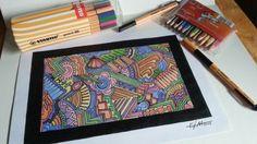 Doodle Art  #Stabilo #fytc #EliderCreation