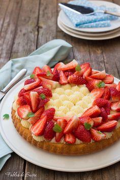 Baking Recipes, Cake Recipes, Dessert Recipes, Dessert Charlotte, Sweet Pastries, Fruit Tart, Breakfast Cake, Sweet Tarts, Savoury Cake