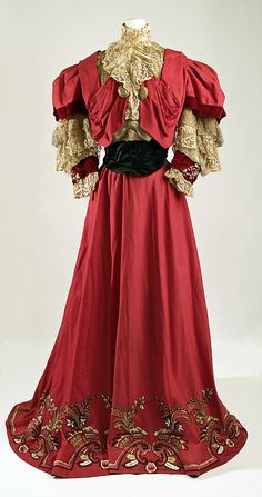 Dress, House of Paquin, 1905-07.