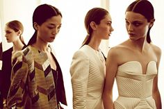 Sass & Bide. Freetown collection. LOVE!! The structure of the dress in the front is to die for.