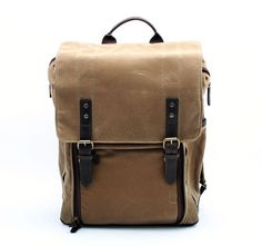 Brand New Ona The Camps Bay Backpack, Field Tan 19172 /