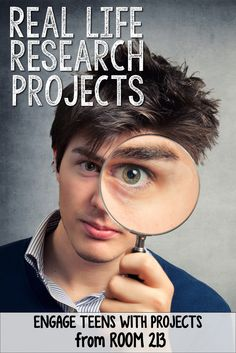 RESEARCH for HIGH SCHOOL ENGLISH: Engaging real life projects for teens.