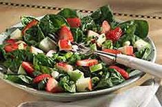 Strawberry-Apple Salsa Salad recipe