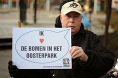 Valentijn in het Oosterpark met Partij voor de Dieren Amsterdam