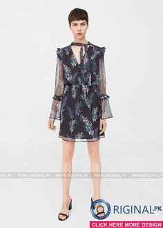 Mango Floral ruffled dress Women Dresses 2017 - Original Online Shopping Store #mangofashion #mangofashion2017 #mangofashionwomendresses #mangowomenfashion #mangowomendresses #womenfashion's #womendresses #womenfashion #womenclothes #ladiesfashion #ladiesclothes #fashion #style #fashion2017 #style2017 Whatsapp: 00923452355358 Website: www.original.pk