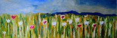 Wild-12x36 Oil Painting