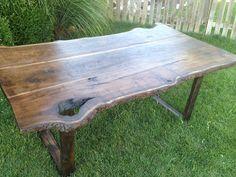 Gorgous Slab WoodBlack Walnut Dining Table by ElementsStudioM on etsy
