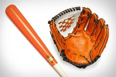 Coach Heritage Baseball Bats & Gloves. Gorgeous.