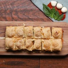 Savory Puff Pastry Pockets Recipe by Tasty