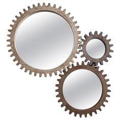 Cog Mirrors, Multiple Sizes