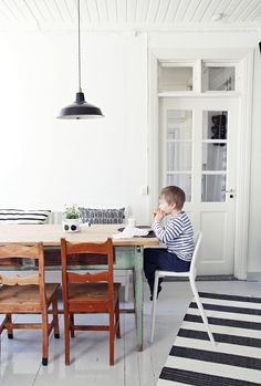 dining room | SUMMER WHITE! | My Second Hand Life