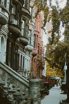 NYC. Upper West Side, Manhattan //  photo via olderthan