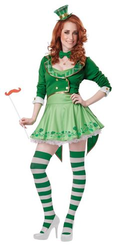 Women's Lucky Charm Leprechaun Costume - Candy Apple Costumes - New Costumes for 2014