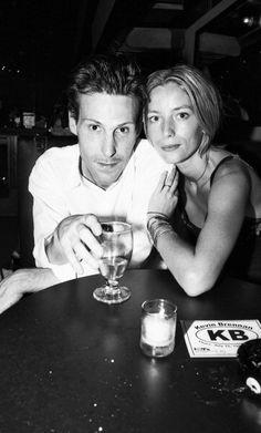 Marlon Richards & Lucie de la Falaise fils de keith richards et loulou de la falaise, mariés