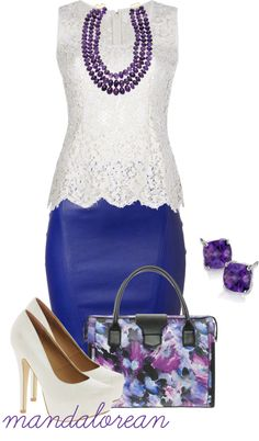 """""""Leather and Lace"""" by mandalorean on Polyvore"""