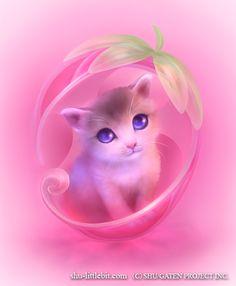 Cute Little Animals Illustrations by Shuichi Mizoguchi Cute Animal Drawings, Kawaii Drawings, Cute Drawings, Cat Wallpaper, Animal Wallpaper, Sunset Wallpaper, Screen Wallpaper, Animal Pictures, Cute Pictures