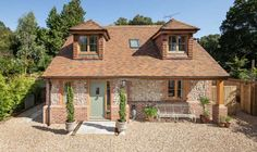 A Custom Build Cottage. The epitome of energy and cost efficiency - and it's really cute.