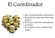 Funciones de cada cargo de un equipo de aprendizaje cooperativo. Carteles para clase