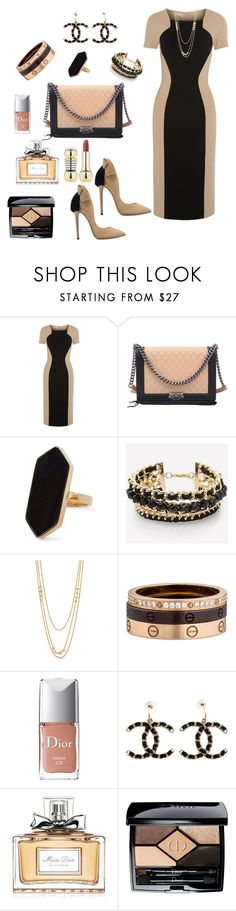 """Untitled #108"" by ellenfischerbeauty ❤ liked on Polyvore featuring Michael Kors, Chanel, Jaeger, Gorjana, Cartier and Christian Dior"